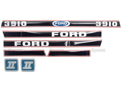 Ford 3910 Series II Decal Kit -- S.12104