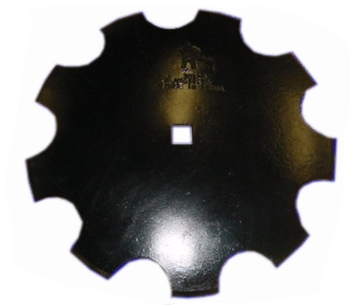 """King Kutter Disc Blade - Notched - 16"""" -- 189216"""