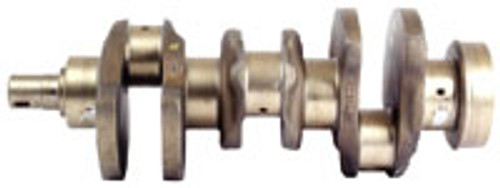Crankshaft, Flat Flange; 4 Bolt; 1 Dowel Snout; 1 Bolt; 2 Key Ways; No Centering Ring -- AT18031