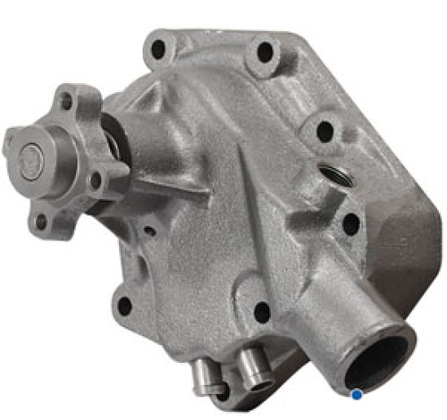 John Deere Backhoe Water Pump (Has Oil Cooler Tubes) -- AR65261