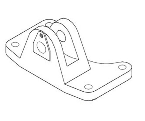 Ford Front Axle Support (Bolster)