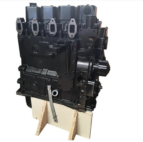 Case 4TA390 Turbo Rebuilt Long Block (Diesel) -- CS-4TA390-LB