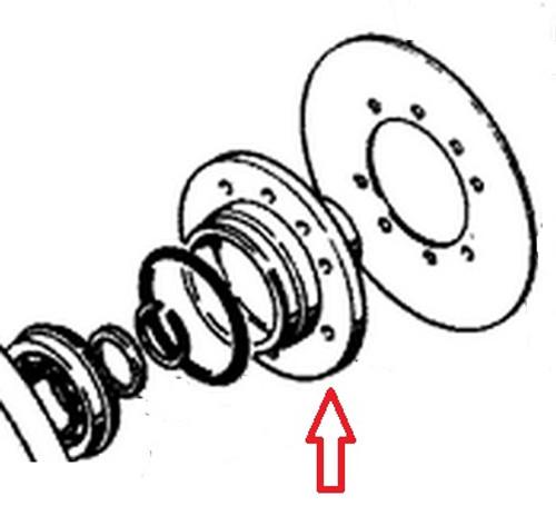 Pilot (Flywheel)(For Case Engines) -- D32015