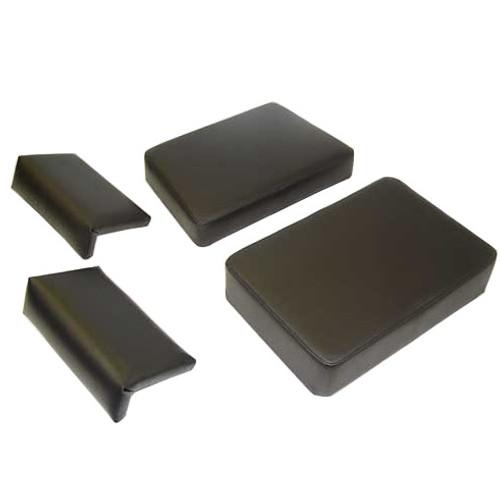 Case 850, 1150 Dozer Complete Seat Cushion Set -- PV802