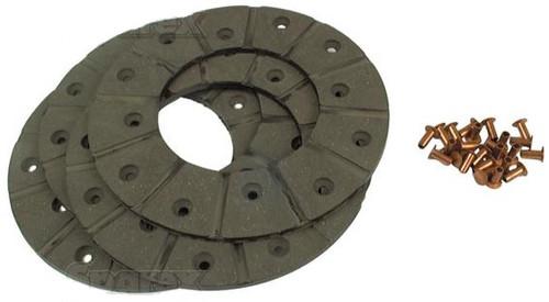 Disc Brake Lining Kit (48-Rivets, 4-Linings) -- E1ADDN-2284