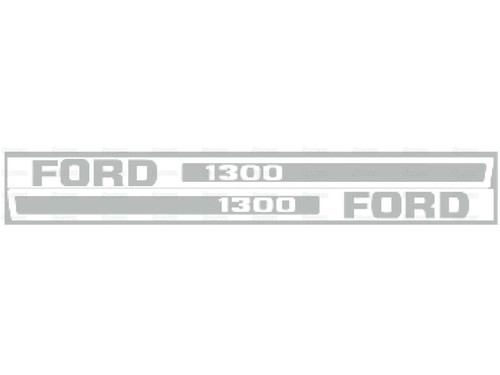 Ford 1300 Hood Decal -- S.67841