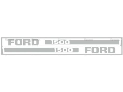 Hood Decals -- F1500