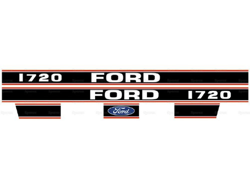 Ford 1720 Hood Decal