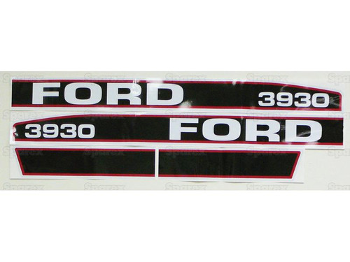 Ford 3930 Hood Decal-- S.66682