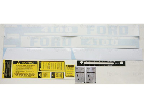 Ford 4100 ('75-'81) Decal Kit -- S.66672