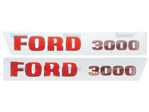 Ford 3000 (Early) Decal Set -- S.8535