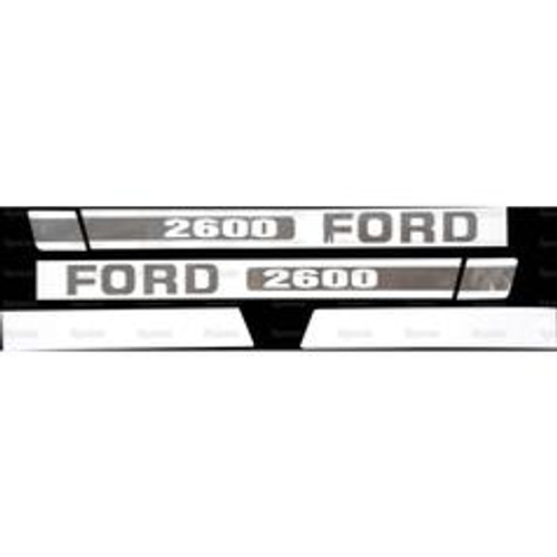 Ford 2600 Hood Decal Set -- S.8414