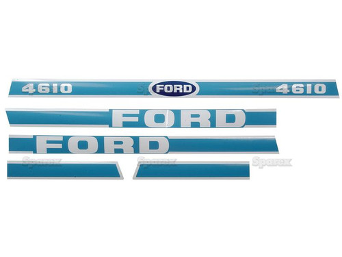 Ford 4610 Decal Kit -- S.8428