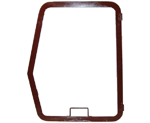 Case Backhoe Cab Window Frame (Left Hand) -- F96713