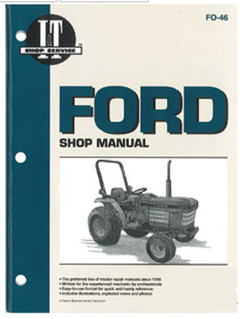 Ford Compact Tractor Repair Manual -- FO46