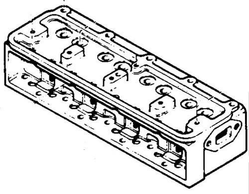Rebuilt Cylinder Head Case 148 H148