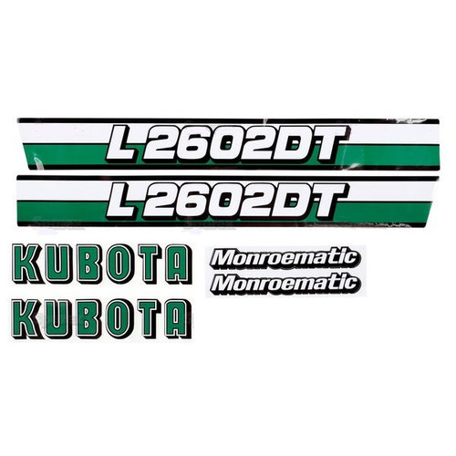 Hood Decal Set -- S.20363