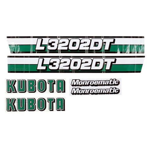 Hood Decal Set -- S.20364