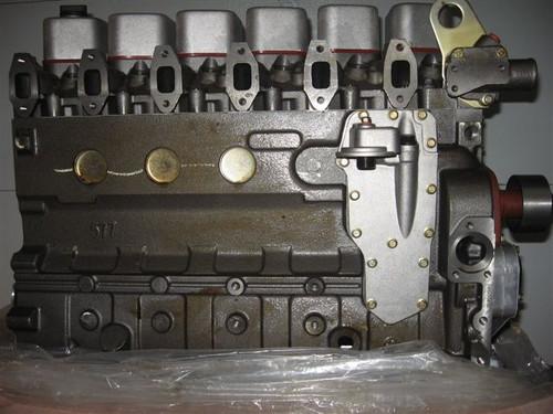 Komatsu 6D102 NEW Engine Long Block Plus  -- KM-6D102-LB-N