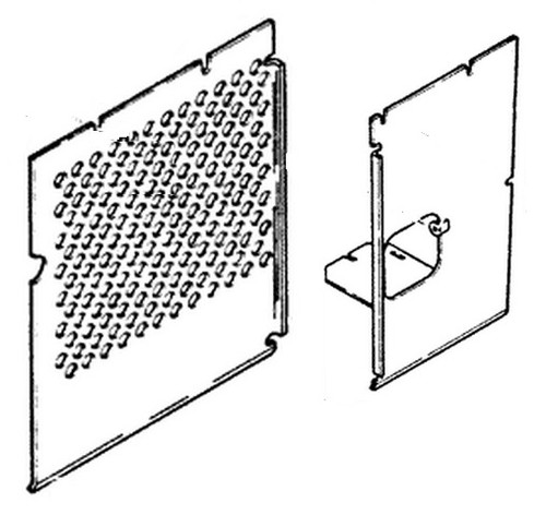 Left Shield (1-piece replaces 2-pc) -- R43197-R40442