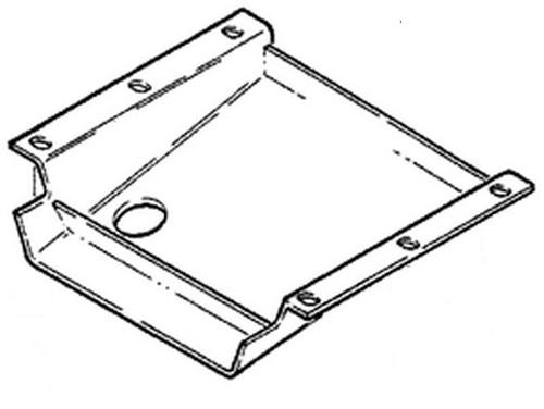 Case Dozer Engine Belly Pan -- R46842