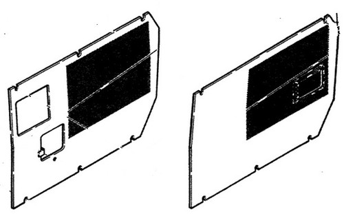 Engine Side Shield Set(Includes Both Left and Right Shields) -- R48058 / R48061