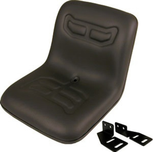 Ford Compact Black 1-Piece Seat -- VLD1590
