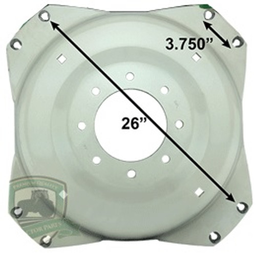 "30"" Wheel Center Square Type -- WH35A"