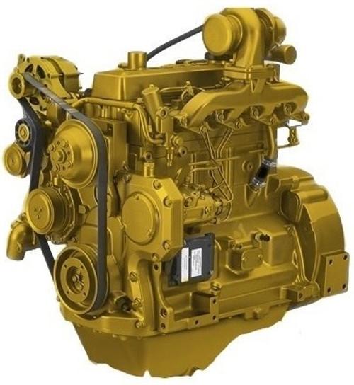 Deere Excavator Complete Engine 4.405 Turbo -- JD-4045T-CE----
