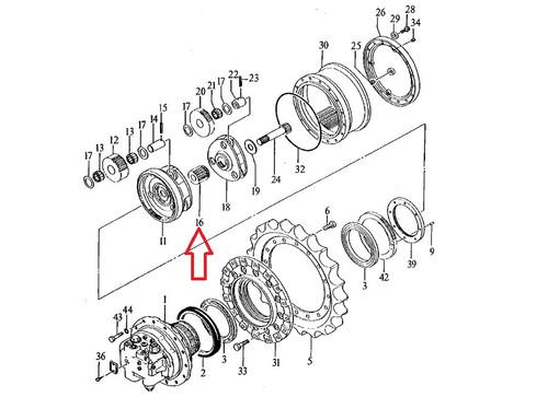 John Deere Excavator Sun Gear 3072878: John Deere 2130 Wiring Diagram At Hrqsolutions.co