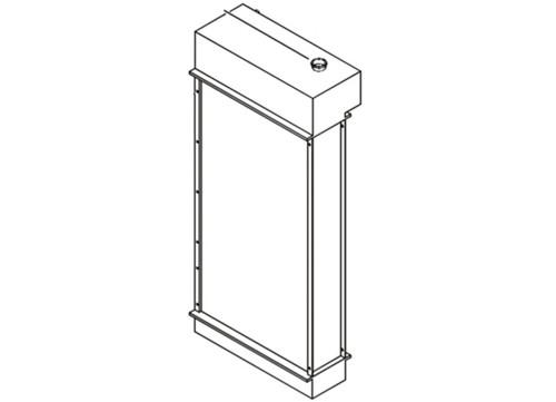 Case Radiator - NEW -- 232030A1
