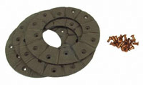Disc Brake Lining Kit (48-Rivets, 4-Linings) -- E1ADDN2284