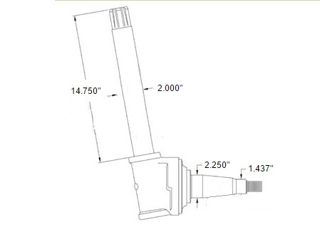 spindle fits left or right ar53880 John Deere B Wiring Schematic spindle fits left or right ar53880