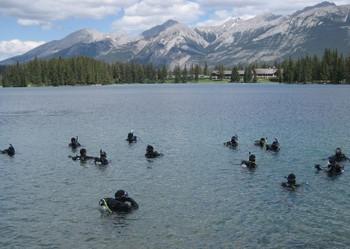 Open Water Training Only - Jasper/Twin Lakes