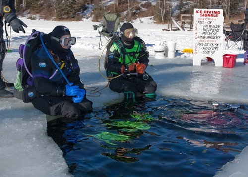 Ice Diver Course