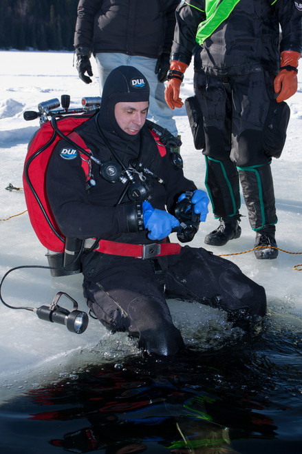 Ice Diving Fun Dives
