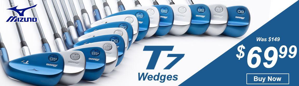Mizuno T7 Wedges Now $69.99