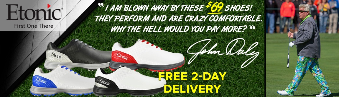 Etonic Stabilizer Shoes - Worn By John Daly On Tour!