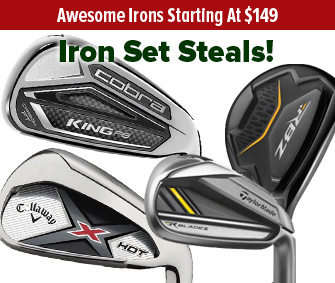 Great Deals On Irons UNDER $500!
