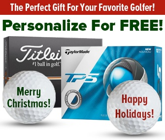 Personalized Golf Balls - The PERFECT Holiday Gift!