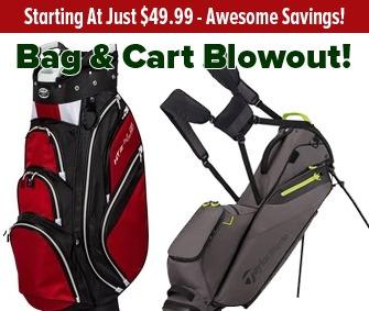 Huge Savings On Bags & Carts!