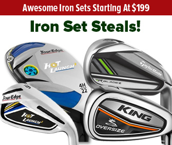 Iron Sets Starting At $199!