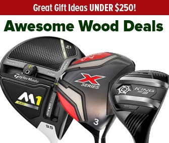 Great Deals On Woods UNDER $250!
