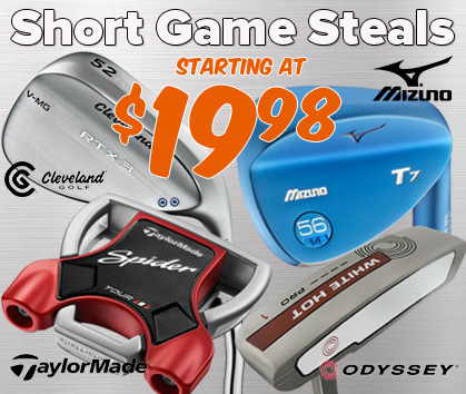 Short Game Steals - Starting At $19.98!