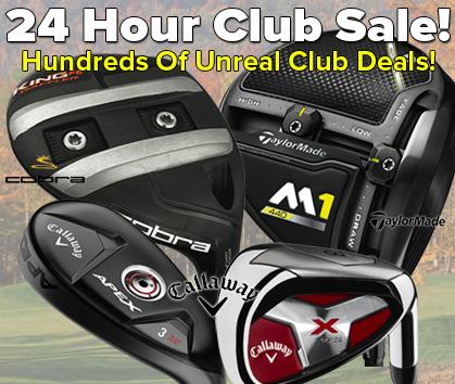 24 Hour Club Sale! Hundreds Of Unreal Club Deals!