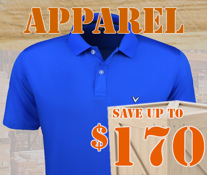 Save BIG On Apparel! Save Up To $170! Shop Now!