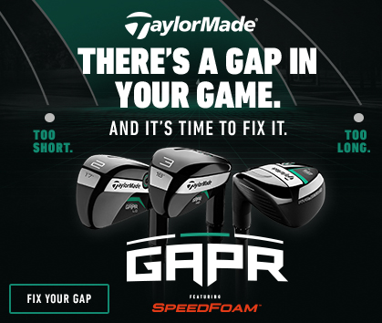 There's A Gap In Your Game! Order Your TaylorMade GAPR Clubs Now At RBG!