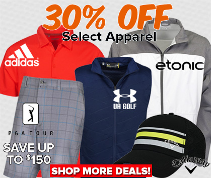30% OFF Select Apparel - Save Up To $150!