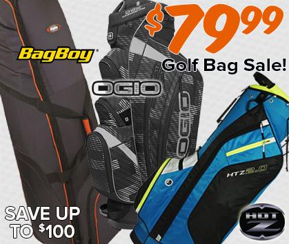 $79 Golf Bag Sale - $79.99!