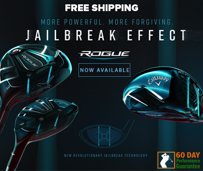 More Powerful. More Forgiving. Callaway Rogue Available At RBG!